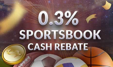Sportsbook Cash Rebate